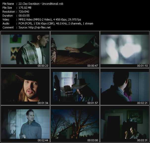 Clay Davidson video screenshot