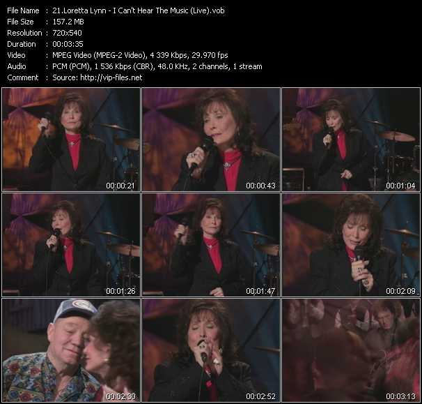 Loretta Lynn video screenshot