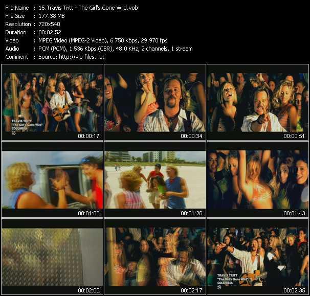 Travis Tritt video screenshot