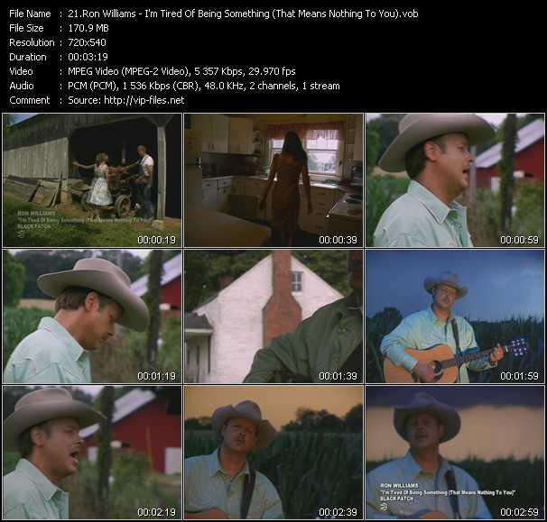 Ron Williams video screenshot