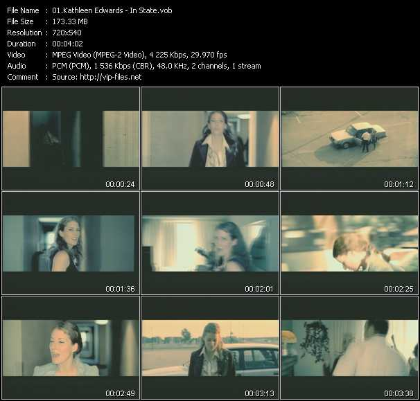 Kathleen Edwards video screenshot