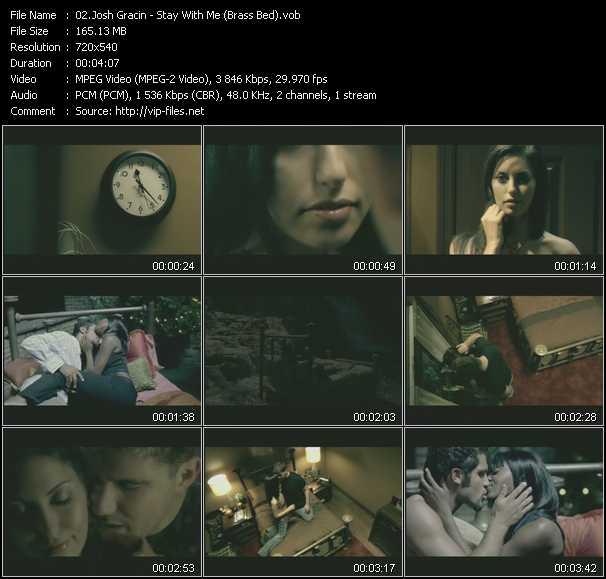 Josh Gracin video screenshot