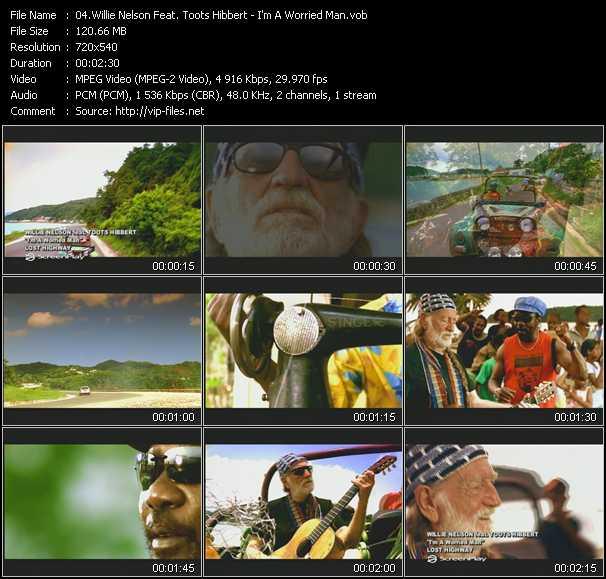Willie Nelson Feat. Toots Hibbert video screenshot
