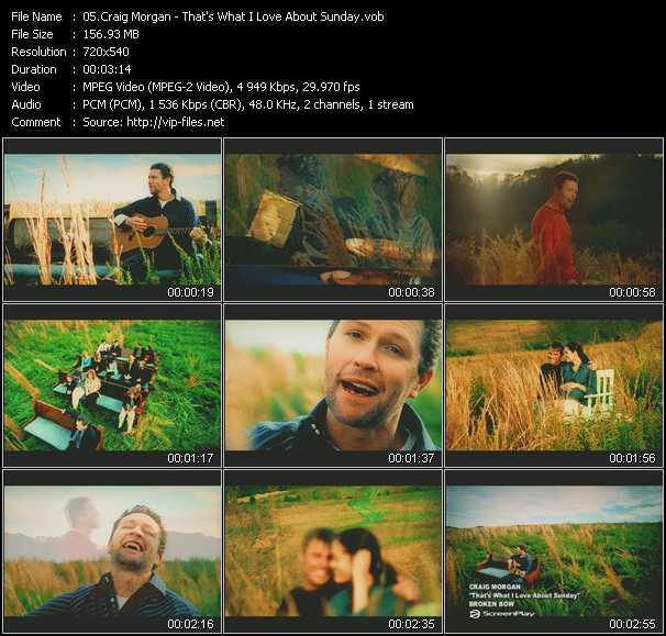 Craig Morgan video screenshot