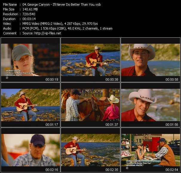 George Canyon video screenshot