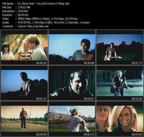 Steve Azar video screenshot