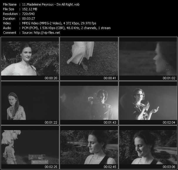 Madeleine Peyroux video screenshot