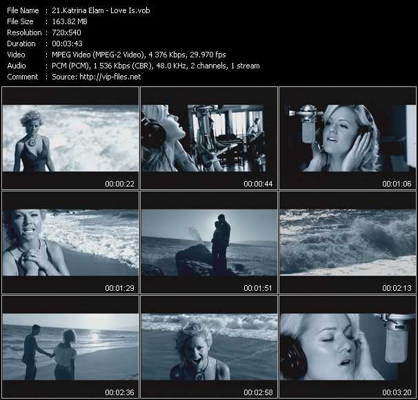 Katrina Elam video screenshot