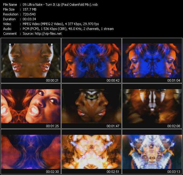video Turn It Up (Paul Oakenfold Mix) screen