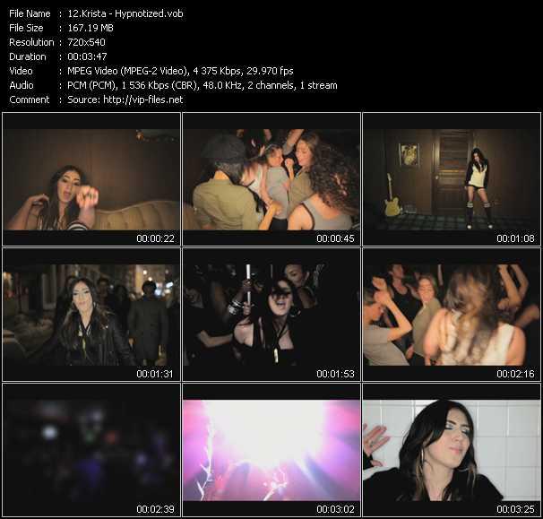 Krista video screenshot