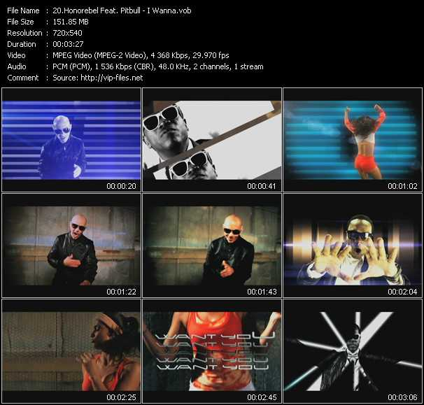 Honorebel Feat. Pitbull video screenshot