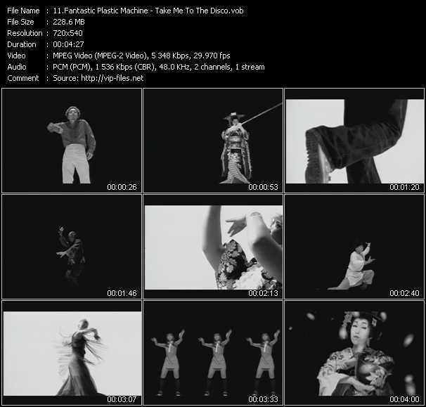 Fantastic Plastic Machine video screenshot