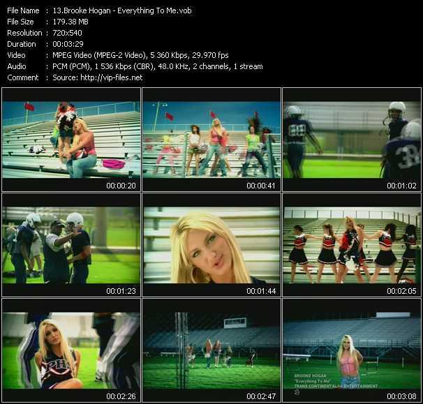 Brooke Hogan video screenshot