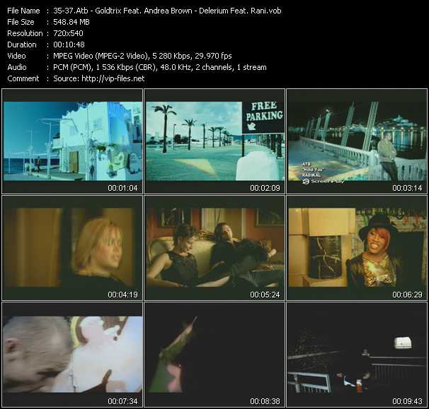 Atb - Goldtrix Feat. Andrea Brown - Delerium Feat. Rani video screenshot