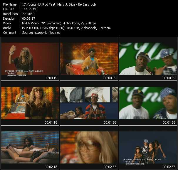 Young Hot Rod Feat. Mary J. Blige video screenshot