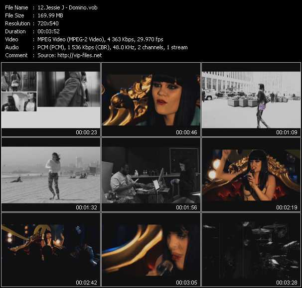 Jessie J video screenshot