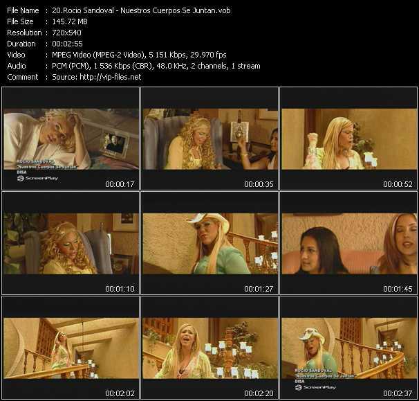Rocio Sandoval video screenshot