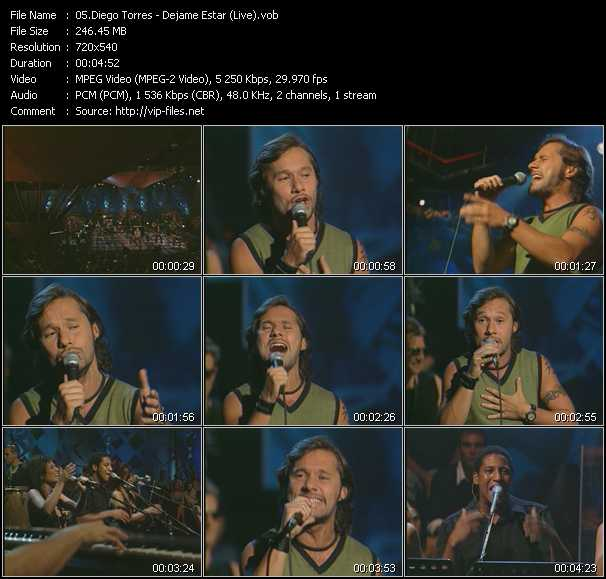 Diego Torres video screenshot
