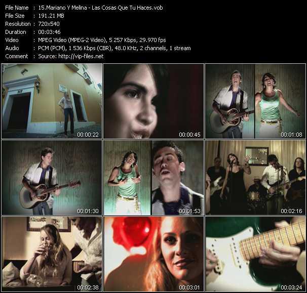 Mariano Y Melina video screenshot