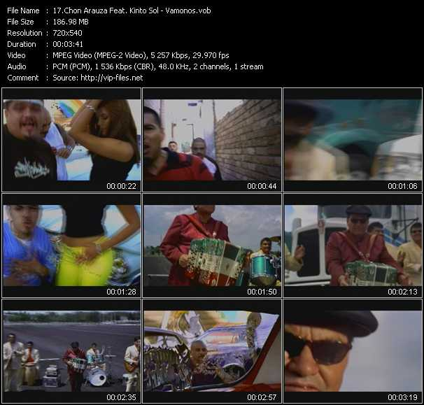 Chon Arauza Feat. Kinto Sol video screenshot