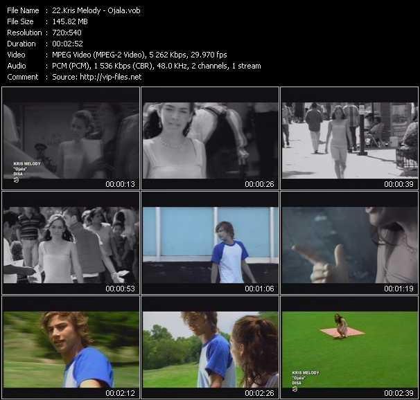 Kris Melody video screenshot