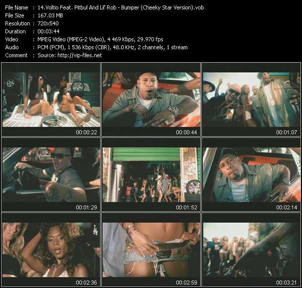 Voltio Feat. Pitbull And Lil' Rob video screenshot