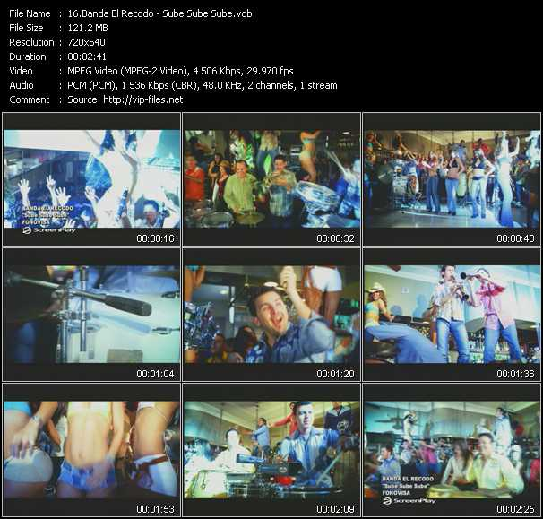 Banda El Recodo video screenshot