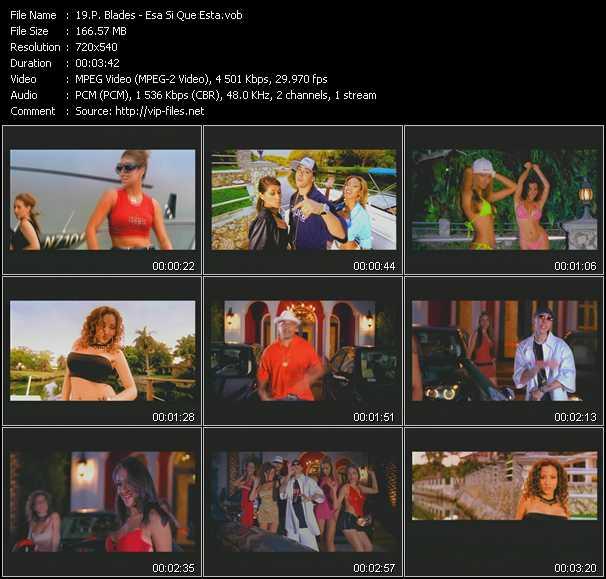 P. Blades video screenshot