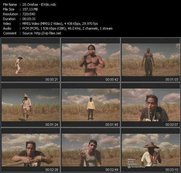 Orishas video screenshot