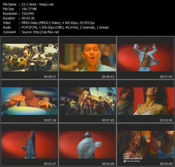 C-Note video screenshot