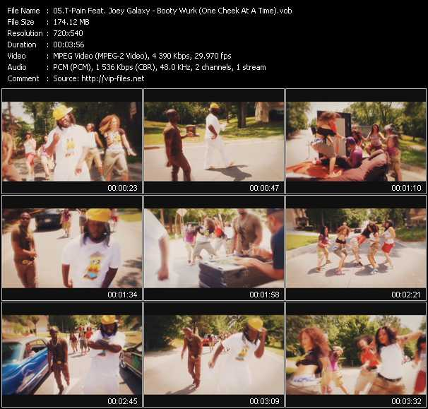 T-Pain Feat. Joey Galaxy video screenshot