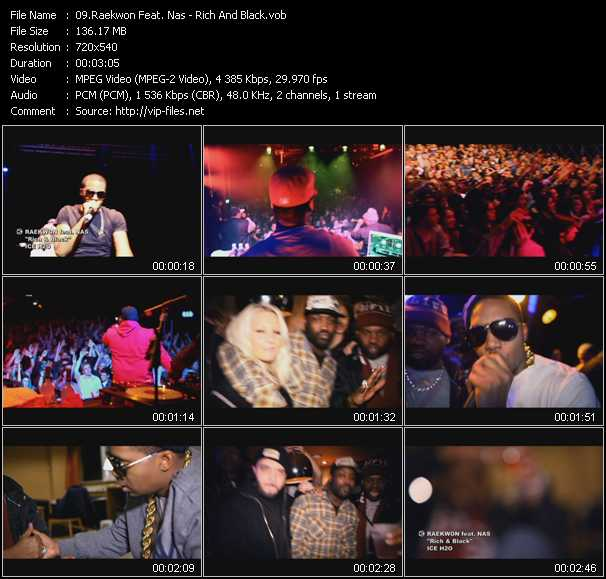 Raekwon Feat. Nas video screenshot
