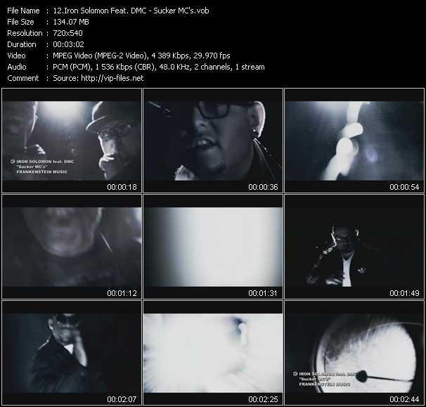 Iron Solomon Feat. DMC video screenshot