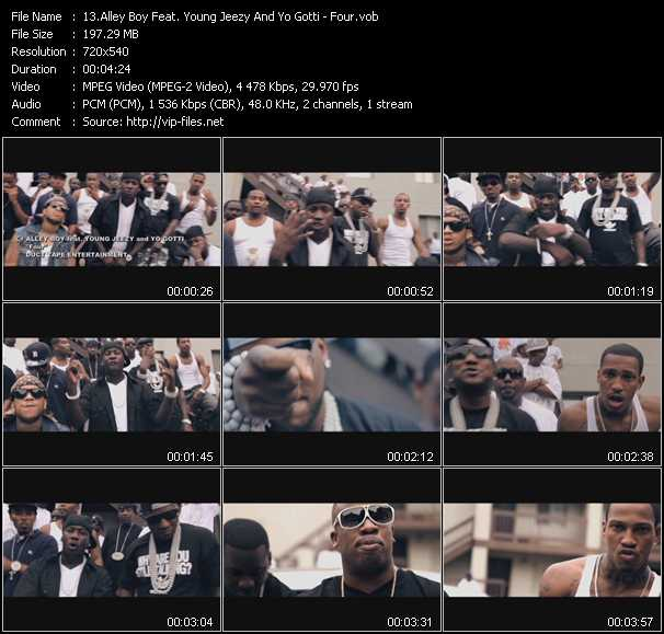 Alley Boy Feat. Young Jeezy And Yo Gotti video screenshot