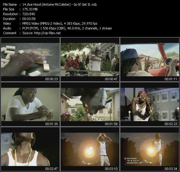 Ace Hood (Antoine McColister) video screenshot