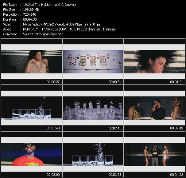 Jem The Haitian video screenshot