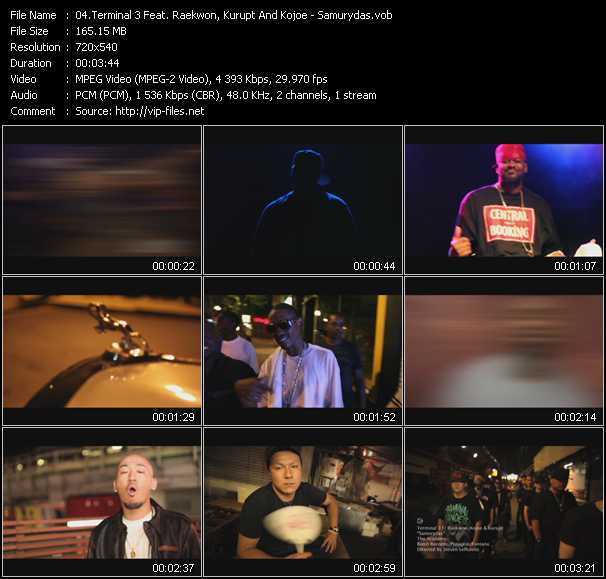Terminal 3 Feat. Raekwon, Kurupt And Kojoe video screenshot