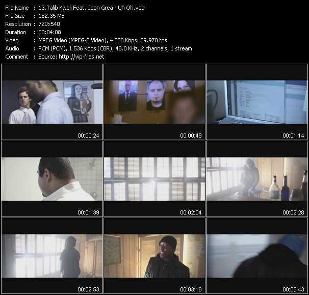Talib Kweli Feat. Jean Grea video screenshot