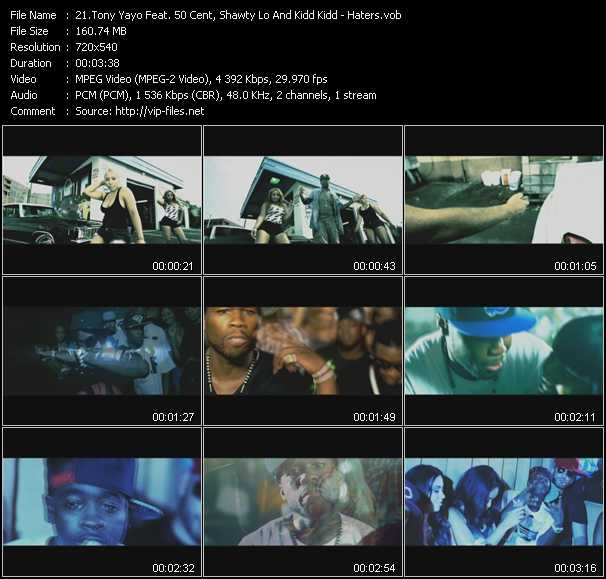 Tony Yayo Feat. 50 Cent, Shawty Lo And Kidd Kidd video screenshot