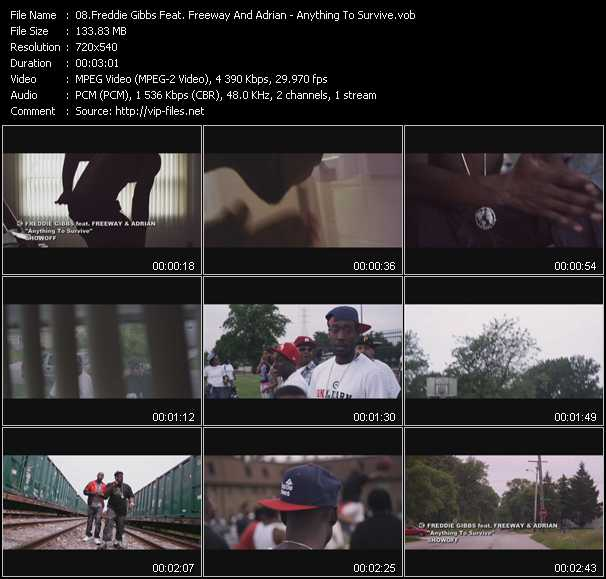 Freddie Gibbs Feat. Freeway And Adrian video screenshot