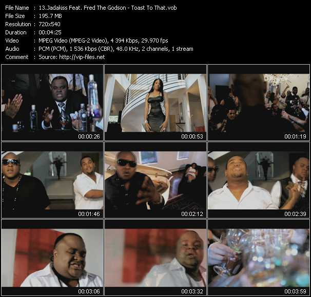 Jadakiss Feat. Fred The Godson video screenshot