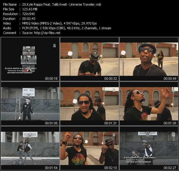 Kyle Rapps Feat. Talib Kweli video screenshot