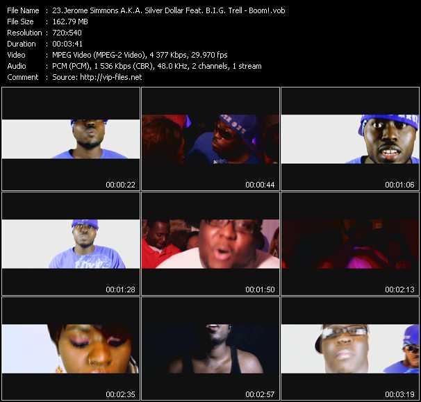 Jerome Simmons A.K.A. Silver Dollar Feat. B.I.G. Trell video screenshot