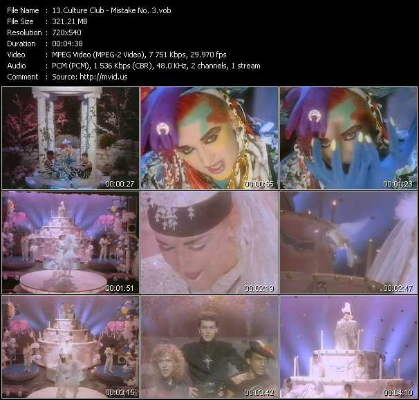 Culture Club video screenshot