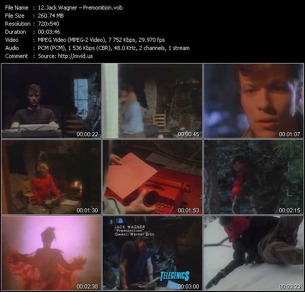 Jack Wagner video screenshot