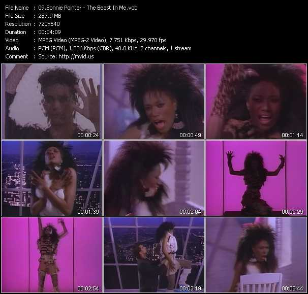 Bonnie Pointer video screenshot