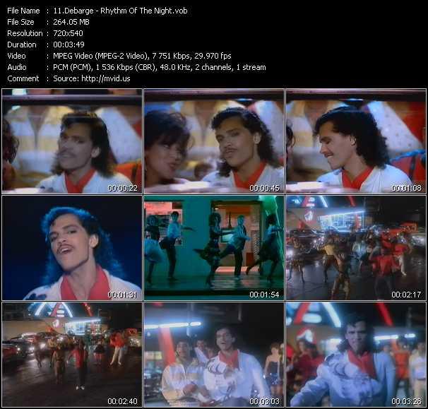 DeBarge video screenshot