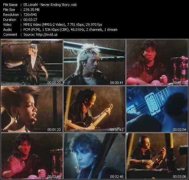 Limahl video screenshot