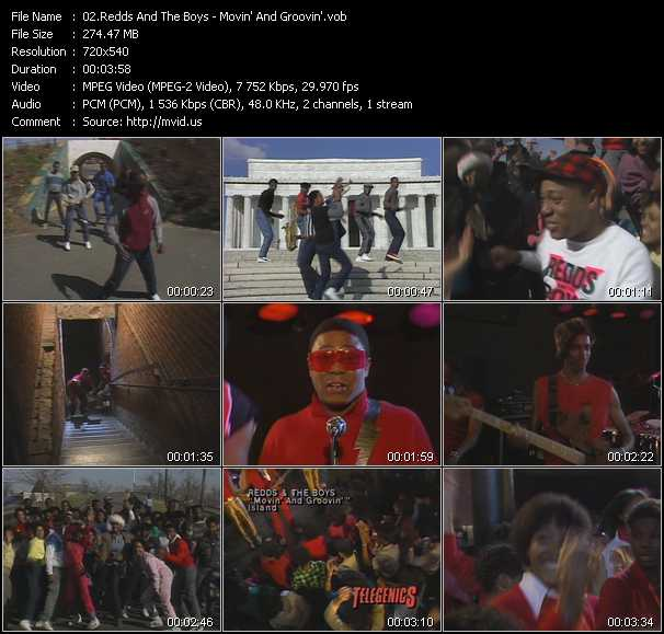 Redds And The Boys video screenshot