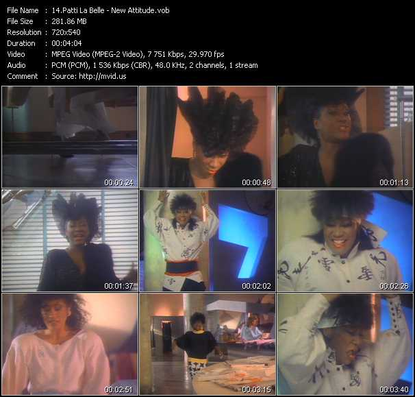 Patti LaBelle video screenshot